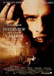 Filmplakat Interview mit einem Vampir