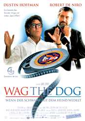 Filmplakat Wag the Dog
