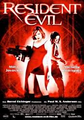Filmplakat zu Resident Evil