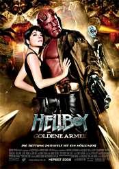 Filmplakat Hellboy 2 – Die goldene Armee