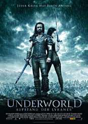 Filmplakat Underworld – Aufstand der Lykaner