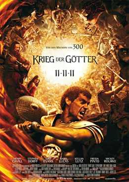 Filmplakat zu Krieg der Götter