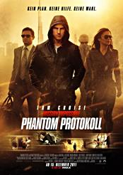 Filmplakat Mission: Impossible – Phantom Protokoll