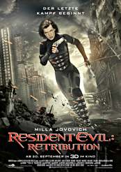 Filmplakat Resident Evil: Retribution