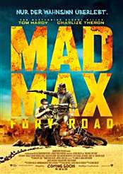Filmplakat zu Mad Max: Fury Road