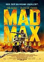 Filmplakat Mad Max: Fury Road