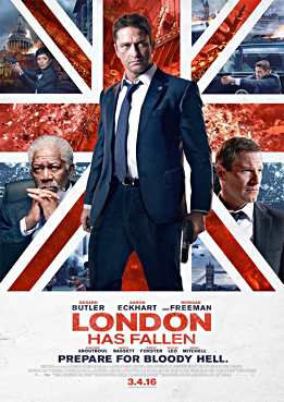 Filmplakat London Has Fallen