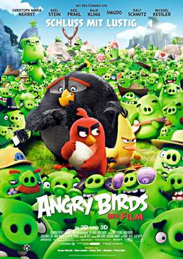 Filmplakat zu Angry Birds