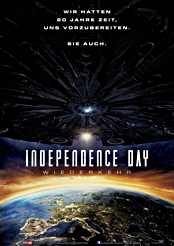 Filmplakat Independence Day: Wiederkehr