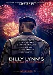 Filmplakat zu Die irre Heldentour des Billy Lynn