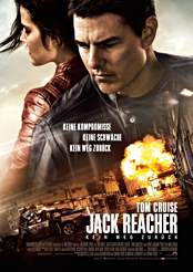 Filmplakat zu Jack Reacher: Kein Weg zurück