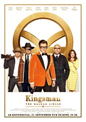 Filmplakat Kingsman: The Golden Circle