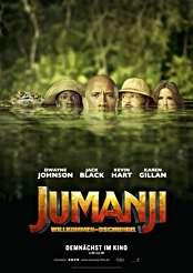 Filmplakat zu Jumanji: Willkommen im Dschungel