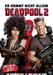 Filmplakat Deadpool 2