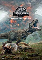 Filmplakat zu Jurassic World: Das gefallene Königreich