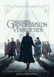 Filmplakat zu Phantastische Tierwesen: Grindelwalds Verbrechen