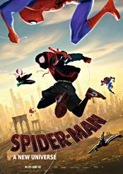 Filmplakat zu Spider-Man: A New Universe