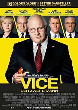 Filmplakat zu Vice - Der zweite Mann