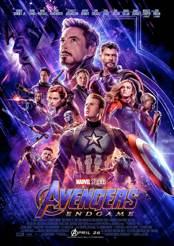 Filmplakat zu Avengers: Endgame