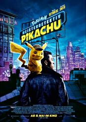 Filmplakat zu Pokemon Meisterdetektiv Pikachu