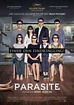 Filmplakat zu Parasite